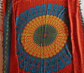 a52ba38d2de Longhi Mandala oranje blauw geel - uitverkocht