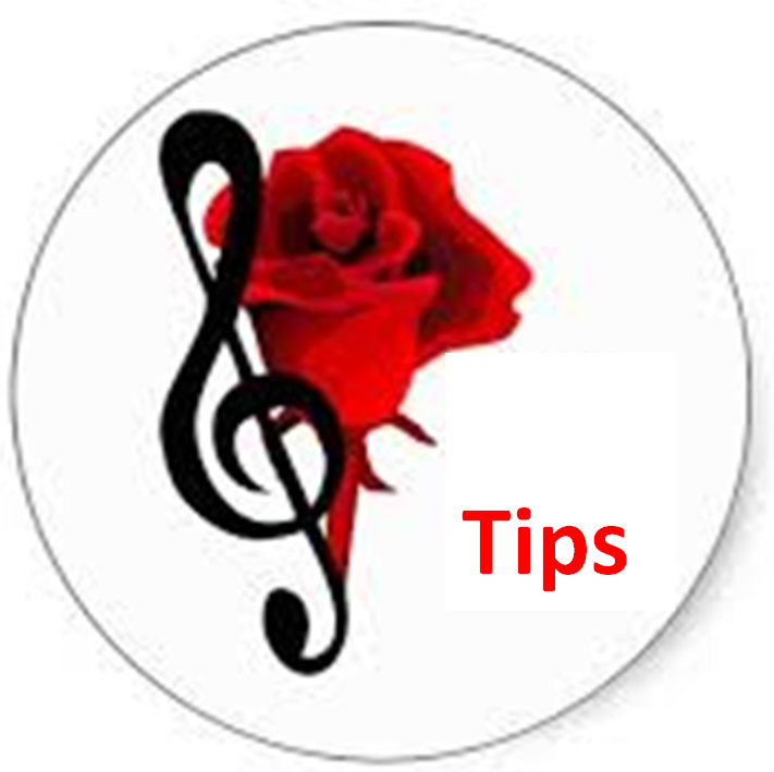 Muziek pagina geschenk